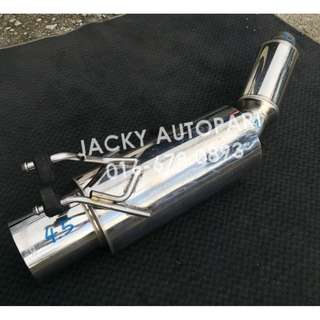 "Muffler Exhaust APEXi N1 Evolution SXE10 2.3"" Jpn"