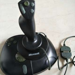Microsoft side winder joystick
