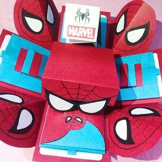 卡通版大禮物盒(蜘蛛人主題)