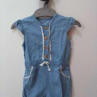 Baby girl onesie 3- 6 mos