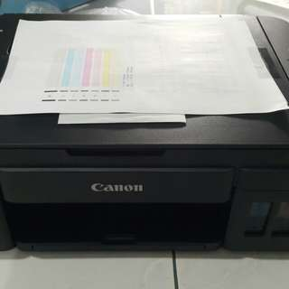 New Printer Unit Only - Canon G2000 3in1 Continuous Ink Printer