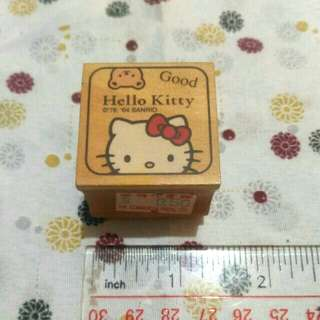 Authentic Hello Kitty Rubber Stamp