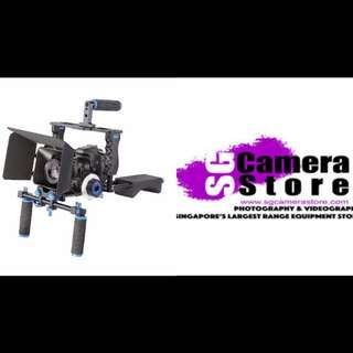 Movie video Rig - complete set - more accessories available at Sgcamerastore