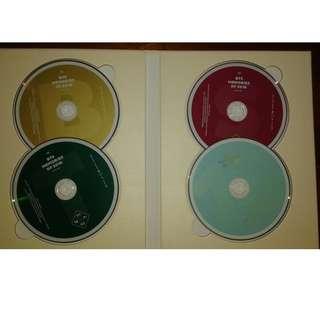 BTS Memories of 2016 - CD