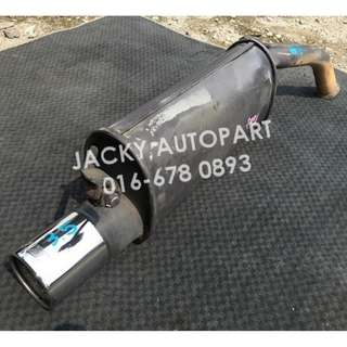 "Muffler Exhaust Remus TTE Vitz Ncp 13 1.8"" Japan"