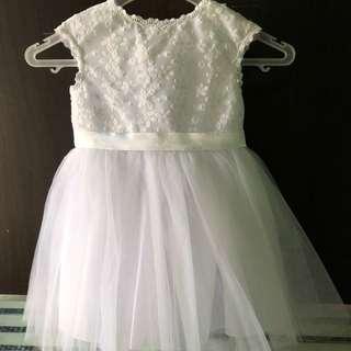 White princess dress