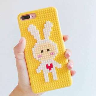 Yellow Rabbit Nanoblock iPhone Casing
