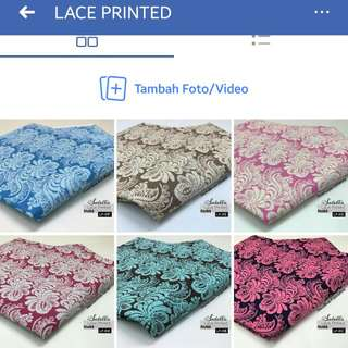 LACE PRINTED
