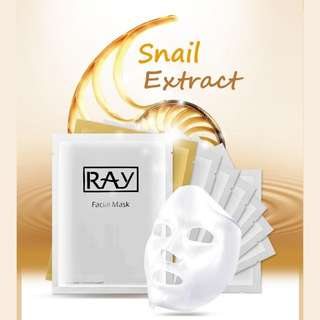 Ray Silk Mask [Gold & Silver]