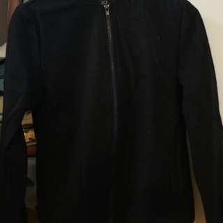 Cotton on bomber black jacket