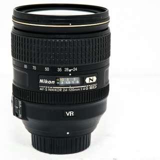 Nikon lens 24-120