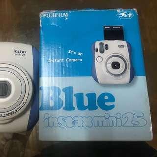 Blue Instax Mini 25
