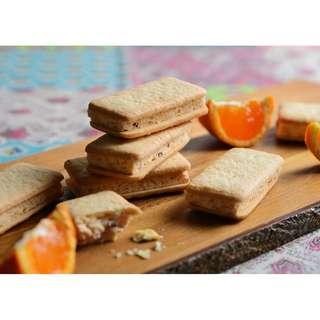 日本直送 洋菓子禮盒 橘莓金沙曲奇 5個入り 賀年禮盒