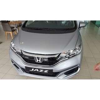 Honda Jazz S 2017 SILVER