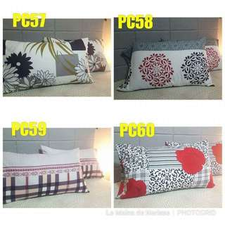 PILLOW COVERS 20x30(queen sized)