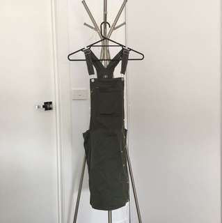 Army green overall