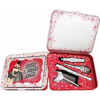 BRAND NEW FREE DELIVERY Benefit Bigger & Bolder Brows Kit