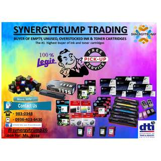 buyer of empty unused ink and toner cartridges