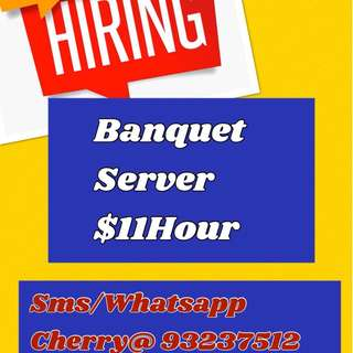 Part-time Banquet Server