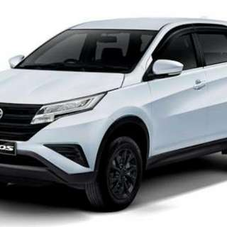 Kredit daihatsu all new terios X MT