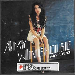 MY CD - AMY WINEHOUSE - BACK TO BLACK /FREE DELIVERY BY SINGPOST.