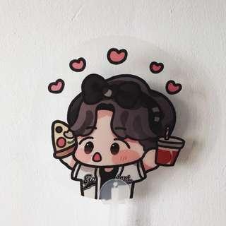 Baekhyun Fanart Transparent Fan