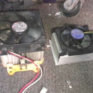 Heat sink with fun