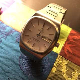 Omega 70s Seamaster TV Dial 1020 Automatic