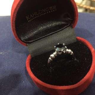1.59 cts Blue Sapphire Diamond