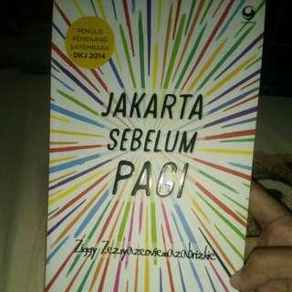Novel Jakarta Sebelum Pagi