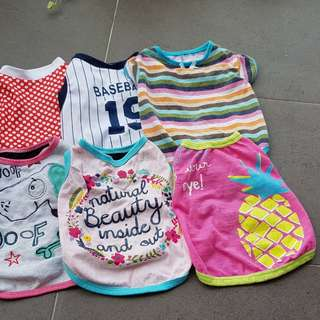 Doggie clothes all for $50