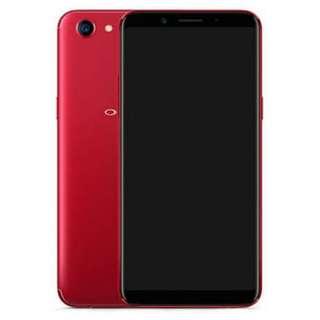 OPPO Ram 4 F5 (Limited RED) Bisa dicicil proses 30mnt tanpa kartu kredit langsung bawa
