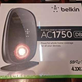 Belkin   AC 1750 DB Wi-Fi 路由器