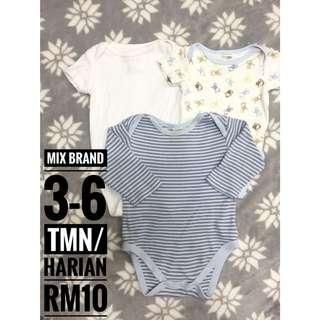 Mix Brand Baby Romper