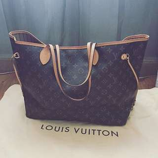 Authentic Louis Vuitton Neverful GM
