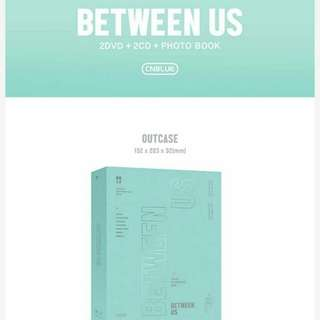 CNBLUE BETWEEN US CONCERT TOUR DVD