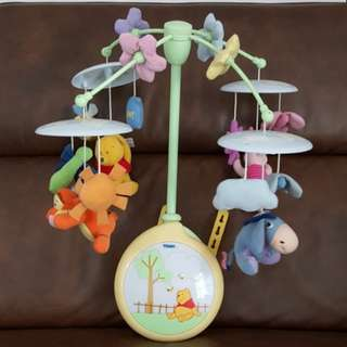 Tomy Winnie the Pooh Baby Cot Mobile