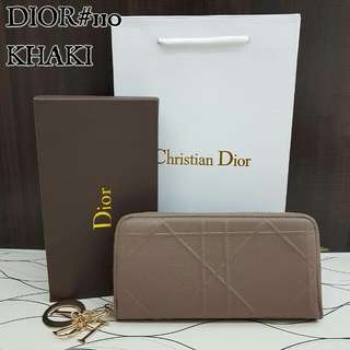 Dior Purse Khaki Color