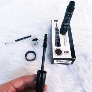 NYX Eyestudio 2in1 Mascara/Eyeliner