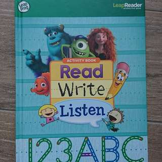 Leap frog interactive book