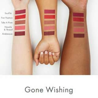 Gone Wishing (Mini: First Position, Needle and Thread)