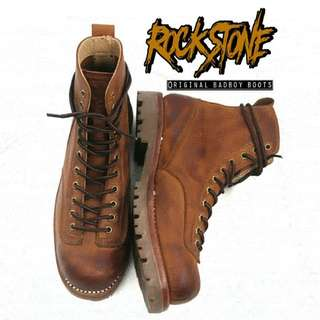 Rockstone boots original leather Rocky sleeper