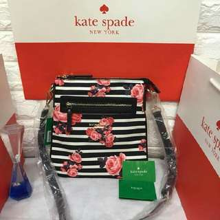 Kate Spade slingbag (rep) P800 only addtl 50 if with paper bag Size 10x11 inches