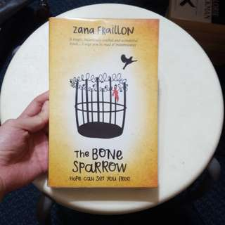 The bone sparrow- Zana Fraillon
