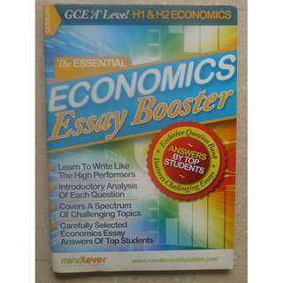 GCE 'A' Level H1 & H2 Economics Essay Boaster