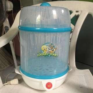 Baby bottle steamer