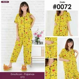 Emoticon long pajamas