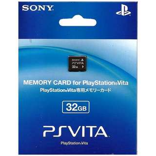 BRAND NEW Authentic Sony PS Vita 32GB 32 Memory Card For PlayStation Vita