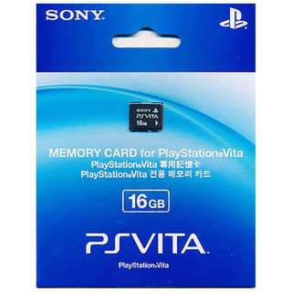 BRAND NEW Authentic Sony PS Vita 16GB 16 Memory Card For PlayStation Vita