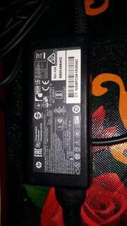 Charger original laptop hp...